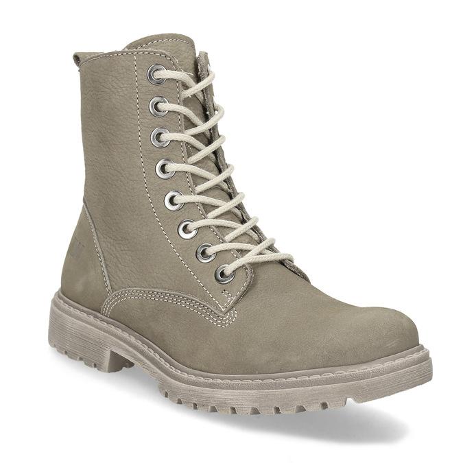 Dámská kotníčková obuv weinbrenner, béžová, 596-8693 - 13