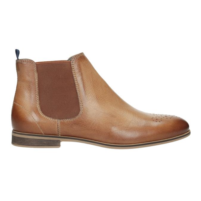 Dámská kožená Chelsea obuv bata, hnědá, 596-3684 - 26
