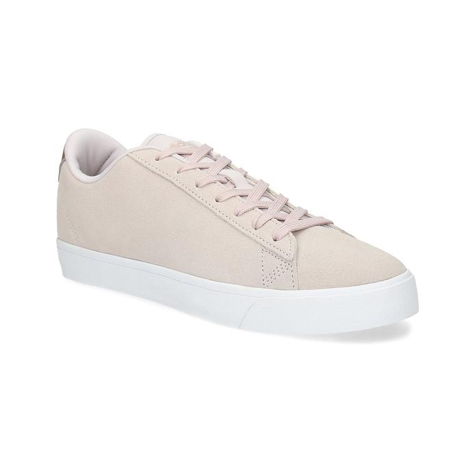 Růžové tenisky z broušené kůže adidas, růžová, 503-2554 - 13