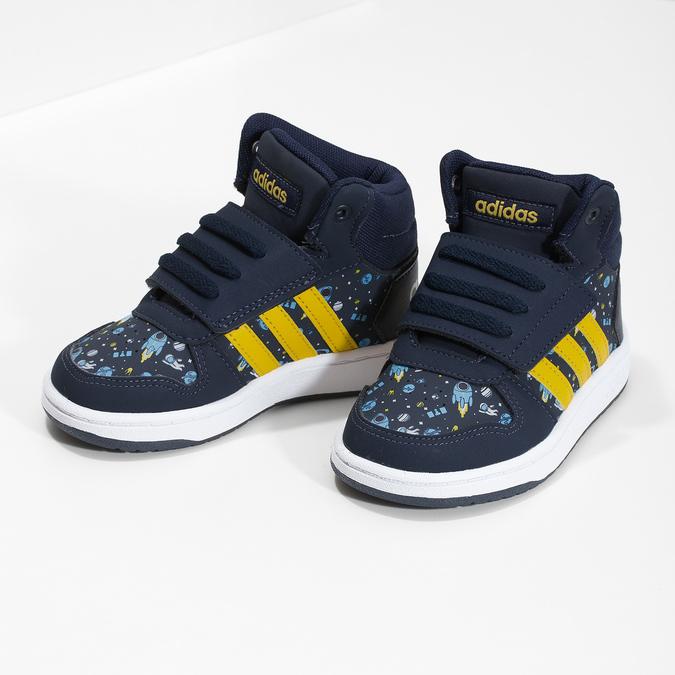 Chlapecké kotníčkové tenisky modré adidas, modrá, 101-9125 - 16