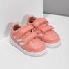 Dívčí růžové tenisky na suché zipy adidas, oranžová, 101-5151 - 26