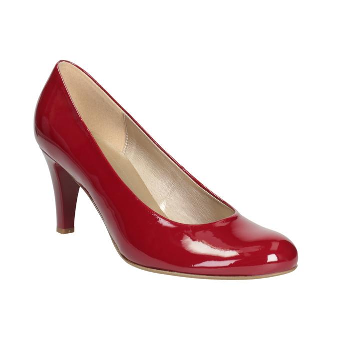 Červené dámské lodičky gabor, červená, 721-5064 - 13