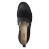 Ležérní kožené Slip-on boty a-s-98, černá, 816-6058 - 17