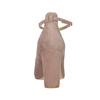 Kožené lodičky s perforací insolia, 723-5604 - 15