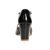 Dámské lakované lodičky insolia, černá, 721-6611 - 16