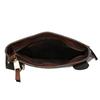Kožená pánská Crossbody taška bata, hnědá, 964-3284 - 15