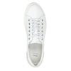 Dámské kožené ležérní tenisky bata, bílá, 544-1606 - 15