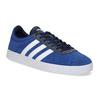 Modré tenisky z broušené kůže adidas, modrá, 803-9979 - 13