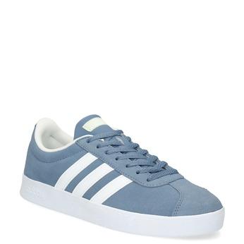 Tenisky z modré broušené kůže adidas, modrá, 503-2379 - 13