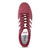 Červené pánské tenisky z broušené kůže adidas, červená, 803-5379 - 17