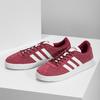 Červené pánské tenisky z broušené kůže adidas, červená, 803-5379 - 16