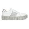 Kožené bílé tenisky s výraznou podešví bata, bílá, 546-1616 - 19