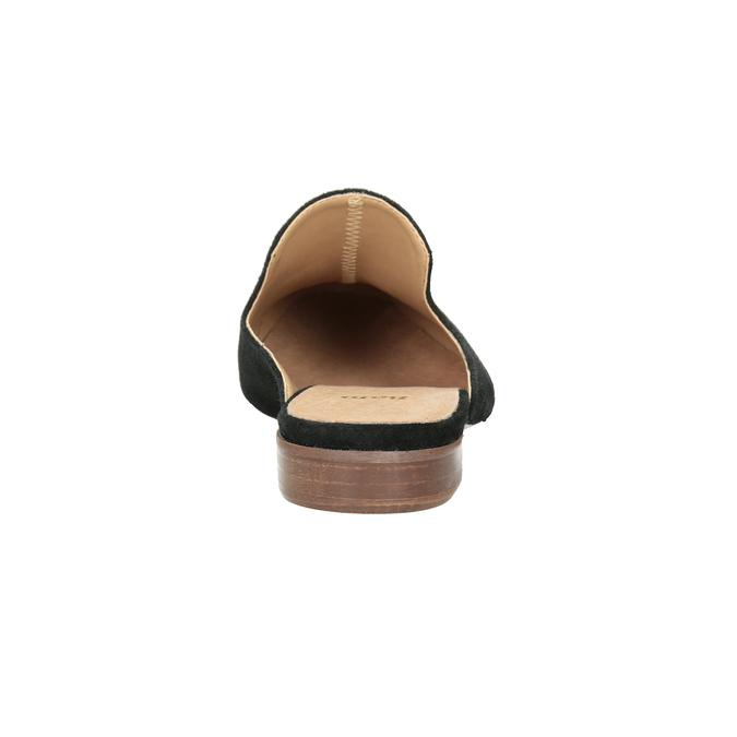 Kožené mokasíny s volnou patou bata, 516-6620 - 16