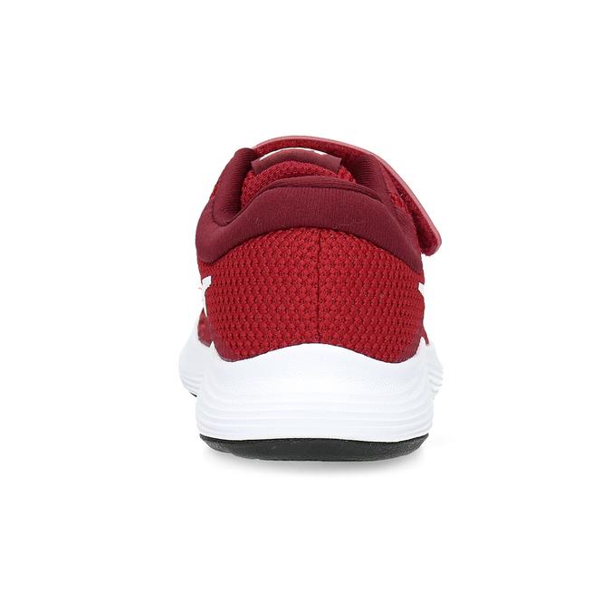 Červené dětské tenisky na suchý zip nike, červená, 309-5179 - 15