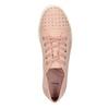Růžové ležérní tenisky s kamínky bata-light, 549-5607 - 15