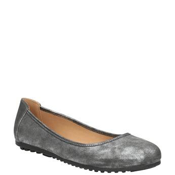 Stříbrné dámské baleríny bata, 529-1640 - 13