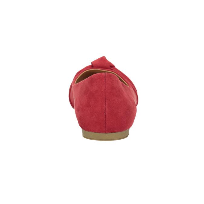 Červené baleríny s mašlí bata, červená, 529-5637 - 16