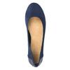 Modré baleríny s kamínky bata, modrá, 529-9639 - 15