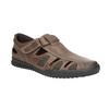 Kožené pánské sandály comfit, hnědá, 856-4605 - 13