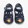 Chlapecká domácí obuv modrá mini-b, modrá, 179-9601 - 16