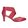 Červené kožené lodičky insolia, červená, 624-5643 - 26
