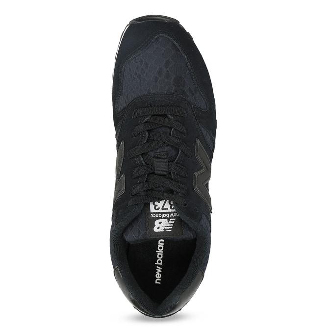 Dámské tenisky sportovní střihu černé new-balance, černá, 503-6874 - 17