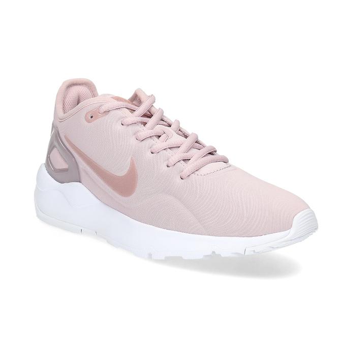 Růžové dámské tenisky sportovního střihu nike, růžová, 509-5841 - 13