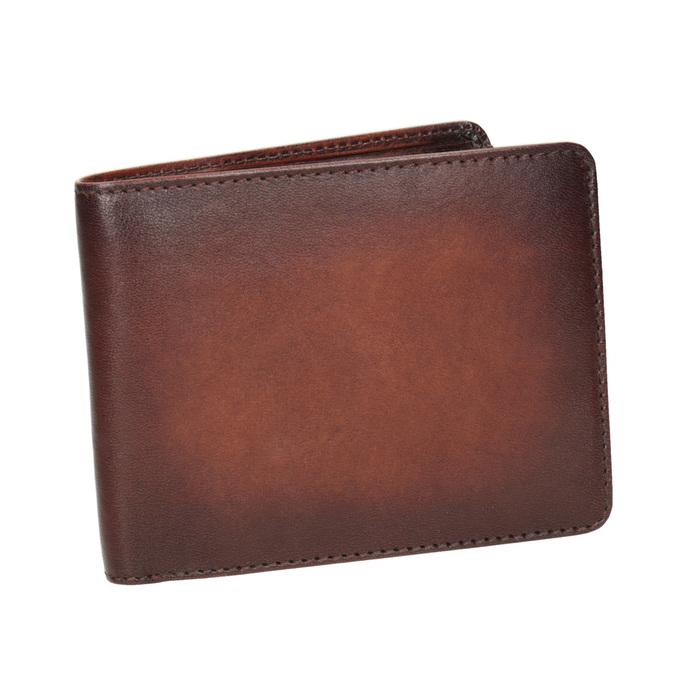 Pánská kožená Ombré peněženka bata, hnědá, 944-3193 - 13