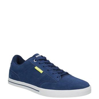 Kožené pánské tenisky modré power, modrá, 803-9860 - 13