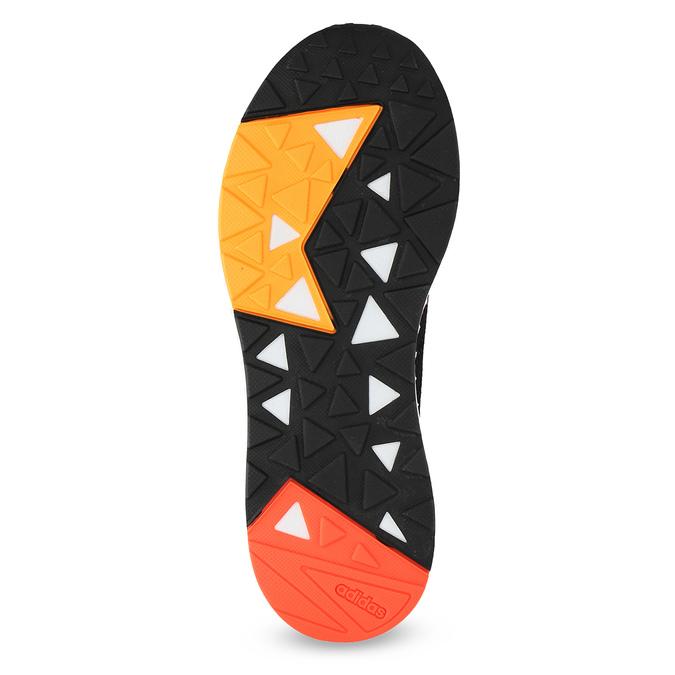 Oranžovo-černé pánské tenisky adidas, oranžová, 809-6479 - 18