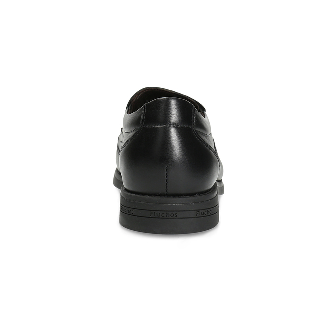 Kožené pánské Loafers fluchos, černá, 814-6600 - 15