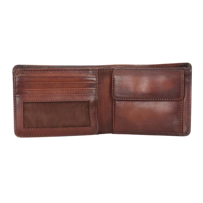 Pánská kožená Ombré peněženka bata, hnědá, 944-3193 - 15