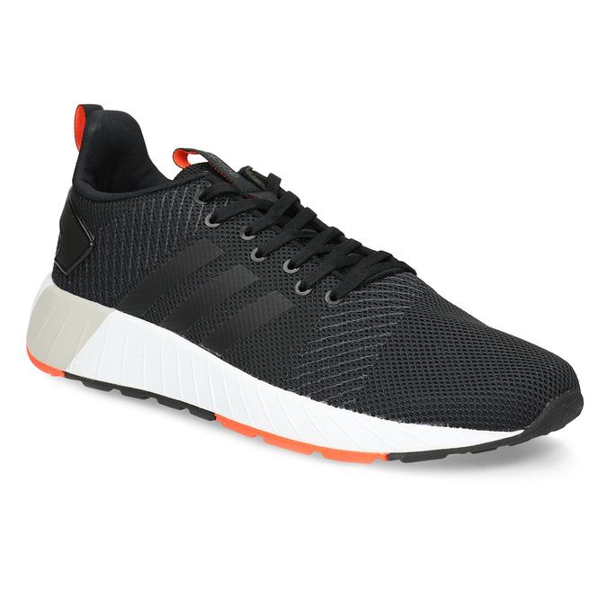 Pánské černé tenisky s oranžovými detaily adidas, černá, 809-6579 - 13