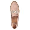 Mokasíny na platformě s perličkami bata, růžová, 511-5610 - 17