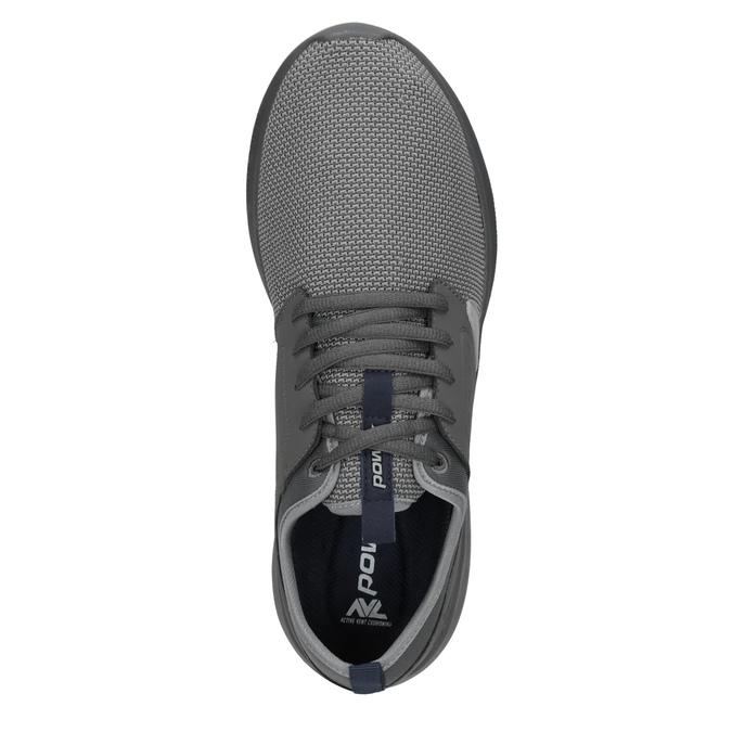 Pánské šedé tenisky ve sportovním stylu power, šedá, 809-2854 - 15