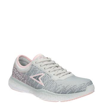 Dámské tenisky ve sportovním stylu power, šedá, 509-2852 - 13