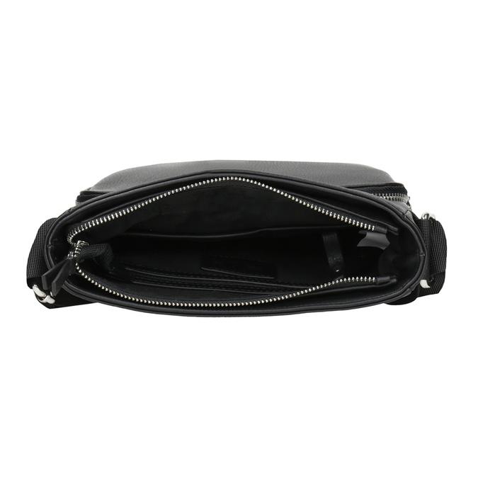Pánská Crossbody taška s kapsou bata, černá, 961-6837 - 15