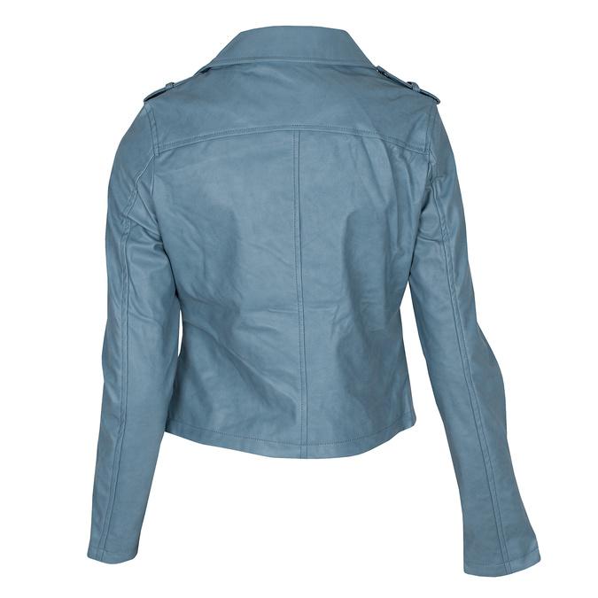 Modrý dámský křivák se zipy bata, modrá, 971-9198 - 26