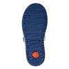 Dětské kožené tenisky na suché zipy mini-b, šedá, 413-2603 - 17