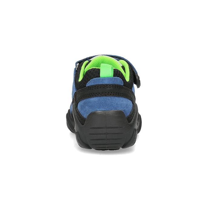 Dětské tenisky v outdoorovém stylu mini-b, modrá, 413-9605 - 15