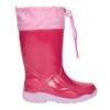 Růžové dívčí holínky mini-b, růžová, 192-5111 - 26