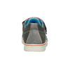 Dětské tenisky na suché zipy s prošíváním mini-b, šedá, 213-2600 - 16