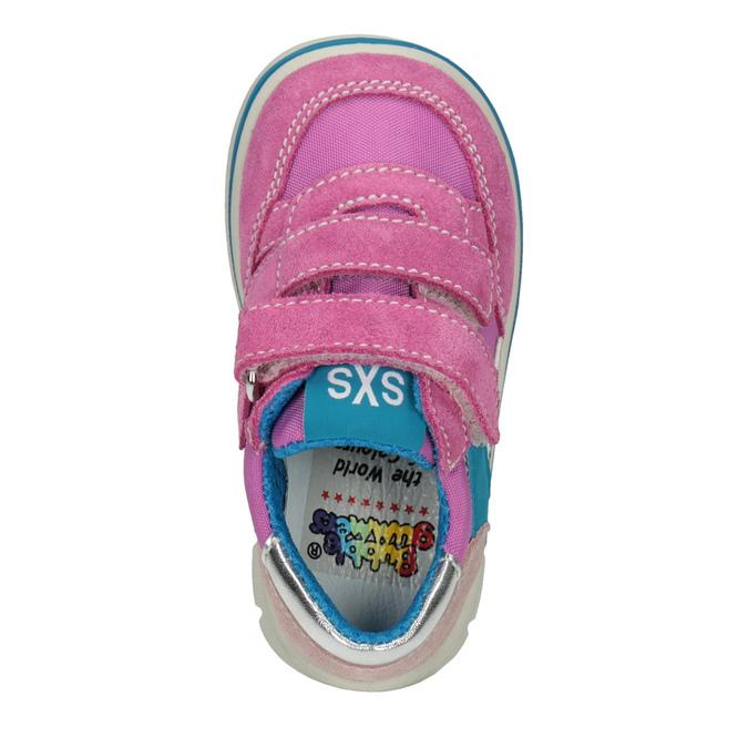 Růžové dívčí tenisky bubblegummers, růžová, 123-5604 - 15