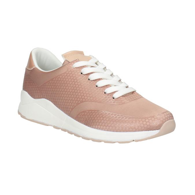 Dámské růžové tenisky bata-light, růžová, 549-5605 - 13