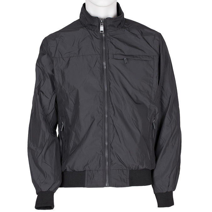 Pánská textilní bunda černá bata, modrá, černá, 979-9119 - 13
