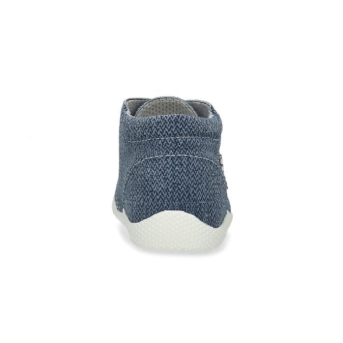 Dětské kotníčkové tenisky bata, modrá, 113-9609 - 15