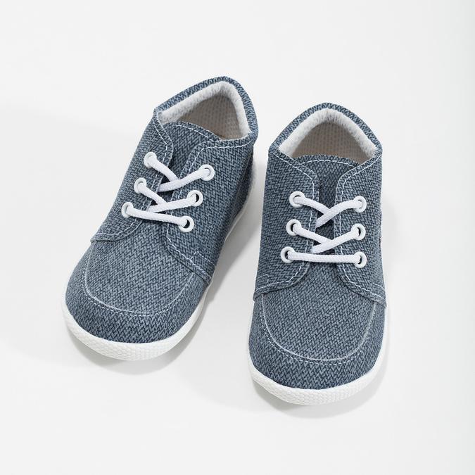 Dětské kotníčkové tenisky bata, modrá, 113-9609 - 16