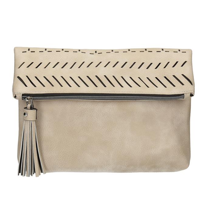 Dámská Crossbody kabelka se střapcem bata, béžová, 961-8829 - 26