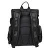Černý pánský batoh z textilu atletico, černá, 969-6677 - 16