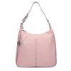 Růžová dámská kabelka v Hobo stylu gabor-bags, růžová, 961-5439 - 26